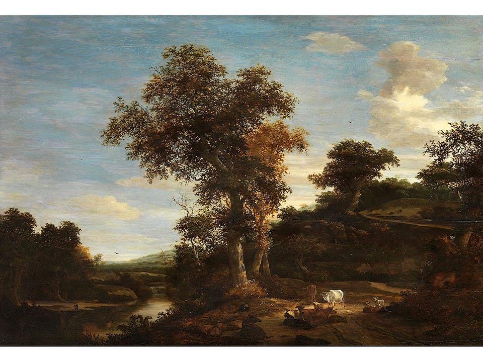 Salomon van Ruysdael, um 1602 Naarden – 1670 Haarlem, zug.
