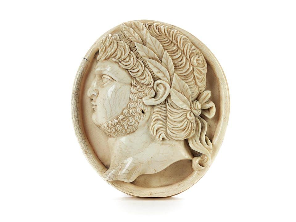 Portraitrelief des Nero