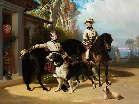 Alfred de Dreux, 1810 Paris – 1860 ebenda