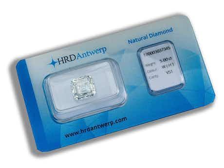 Loser Diamant 5.00 ct H/VS1