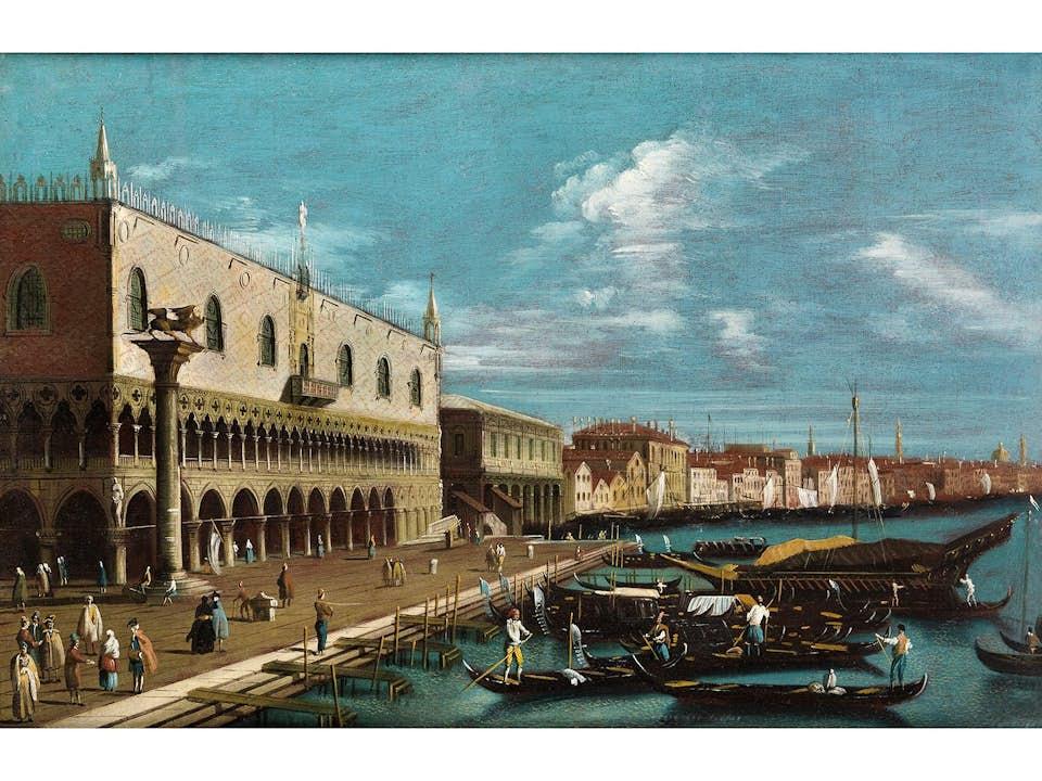 Bernardo Canal, 1674 Venedig – 1744