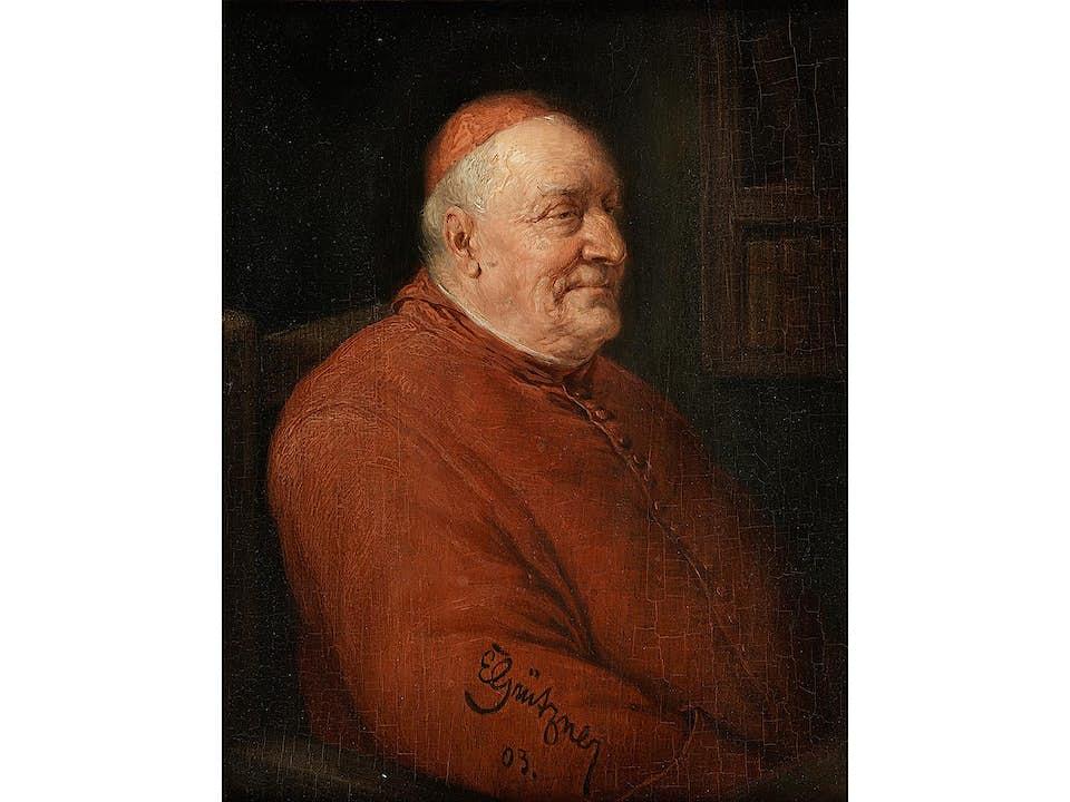 Eduard von Grützner, 1846 Großkarlowitz – 1925 München