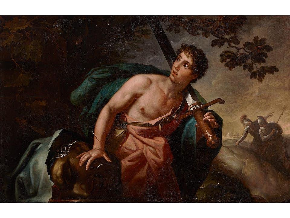 Italienischer Maler der Bologneser Schule des 17. Jahrhunderts