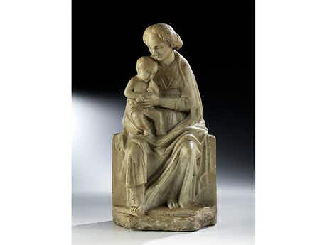 """Renaissance-Bildhauer aus dem Kreis von Antonio Gamberelli, 1427 – 1479 und/ oder dessen Bruder Bernardo di Matteo Gamberelli, 1409 – 1464, genannt """"Rossellino"""""""