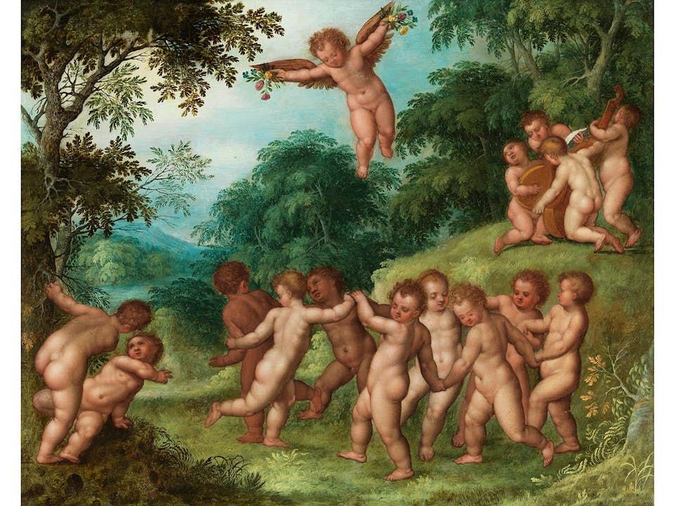 Jan Brueghel d. J. 1601 – 1678 und Jan van Balen, 1611 – 1654, zug.