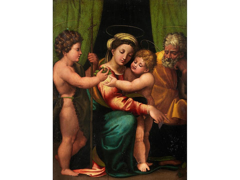 Innocenzo da Imola, genannt Innocenzo Francucci, um 1490 Imola – um 1545 Bologna, zug.