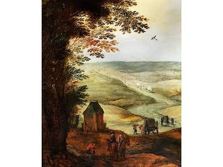 Joos de Momper, 1564 – 1635 und Jan Brueghel d. J. 1601 – 1678