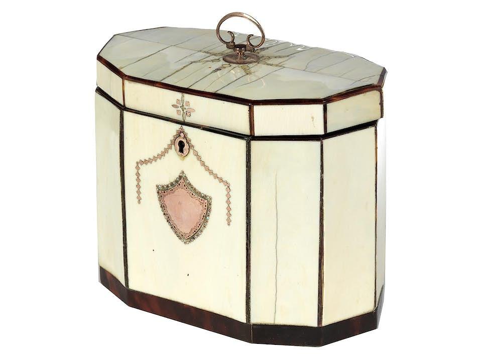Englische Teebox