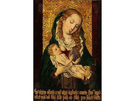 Meister des Brokathintergrundes, tätig um 1480 – 1500