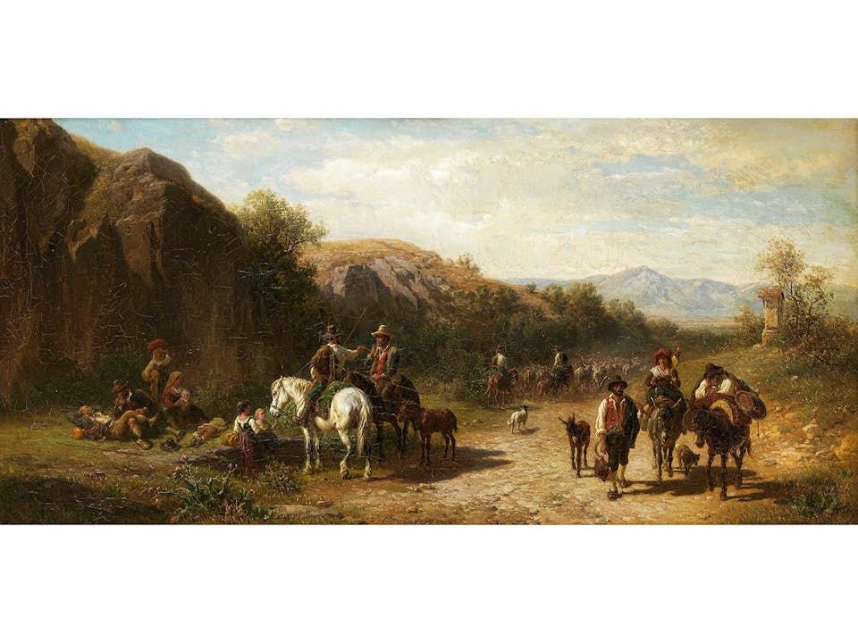 Gustav Jakob Canton, 1813 Mainz – 1885 München