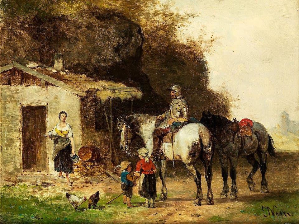 Julius Noerr, 1827 München – 1897 Starnberg