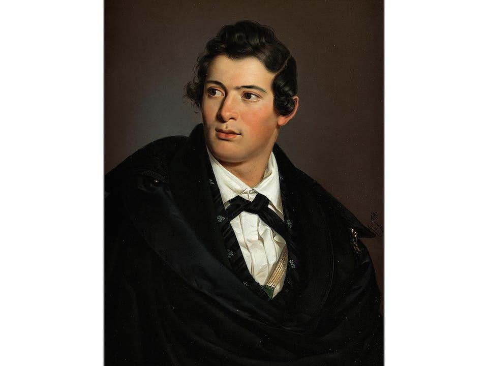 Georg Wilhelm Wanderer, 1804 Rothenburg ob der Tauber – 1863 Nürnberg
