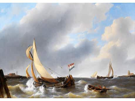 Petrus Jan Schotel, 1808 Doordrecht – 1865 Dresden