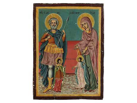 Ikone zweier Heiliger