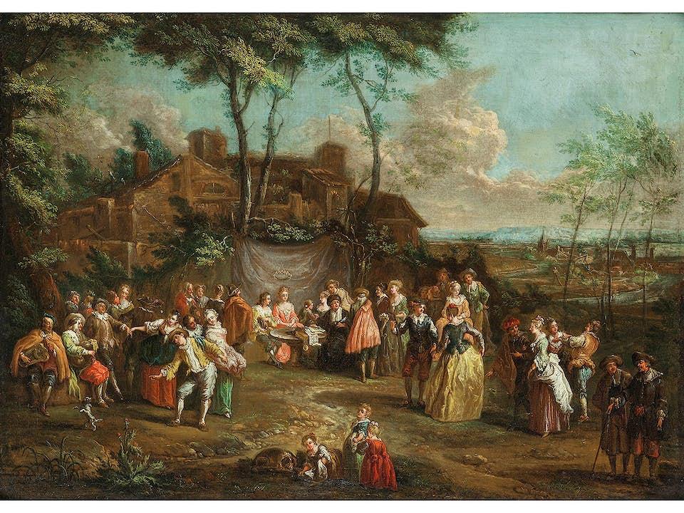 Franz Christoph Janneck, 1703 Graz – 1761 Wien, zug.