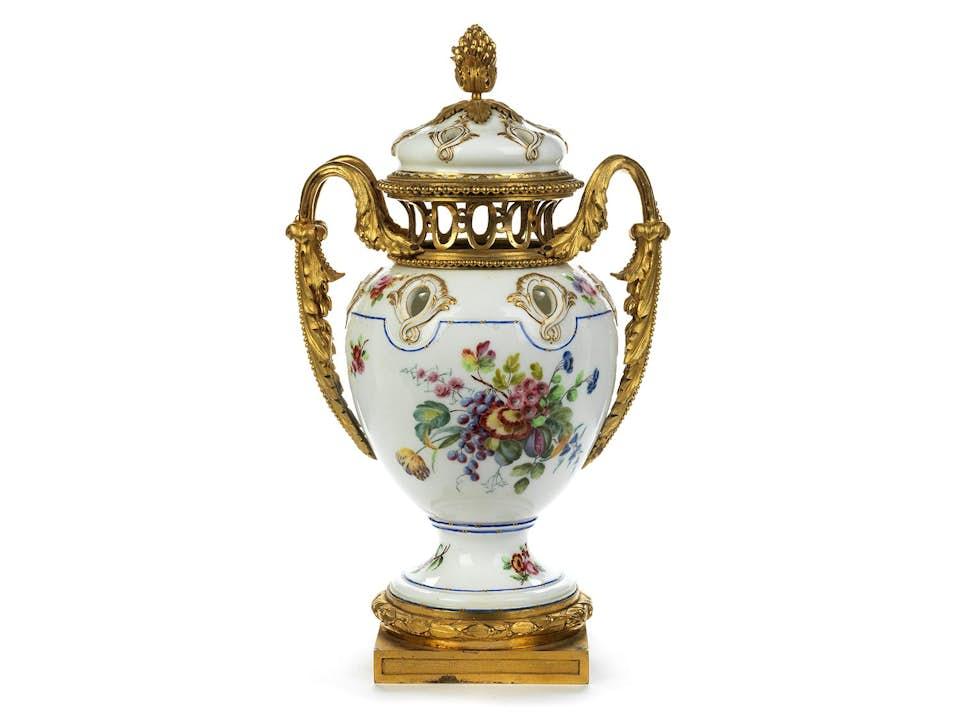 Französische Brûle parfum-Vase