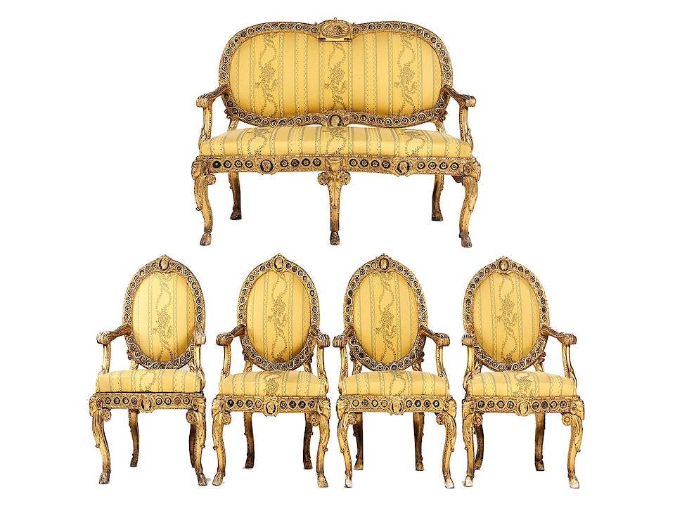 Italienische Salonmöbel