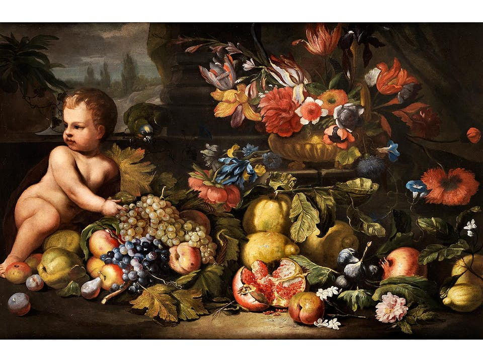 Abraham Brueghel, 1631 – 1697, zug.