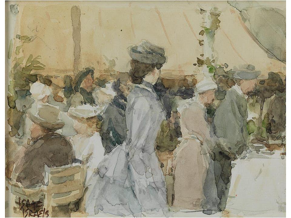 Isaac Lazarus Israels, 1865 Amsterdam – 1934 Den Haag