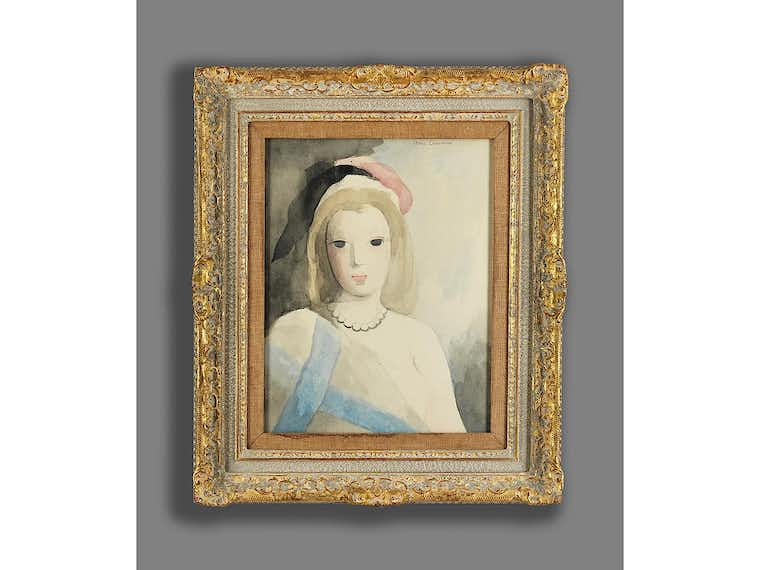 Marie Laurencin, 1883 Paris – 1956 ebenda | HAMPEL Fine Art ...