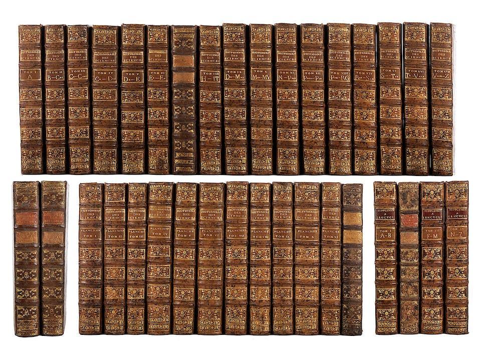 DIDEROT und D'ALEMBERT 35 Bände