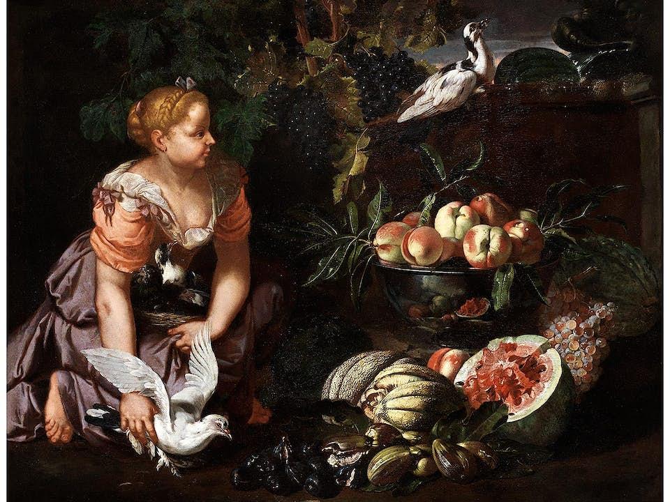 Abraham Brueghel (1631 – 1697) und Nicola Vaccaro (1634/40 – 1709/17)