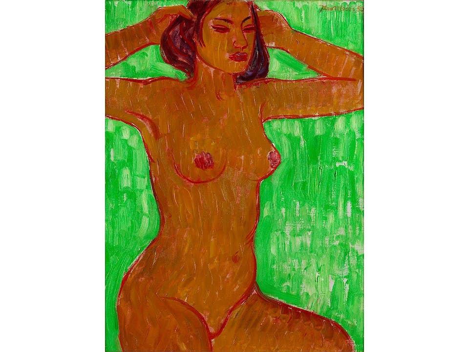 Theo Meier, 1908 Basel – 1982 Bern Schweizer Maler. Zeitweise in Südostasien tätig und von der dortigen Kunst beeinflusst.
