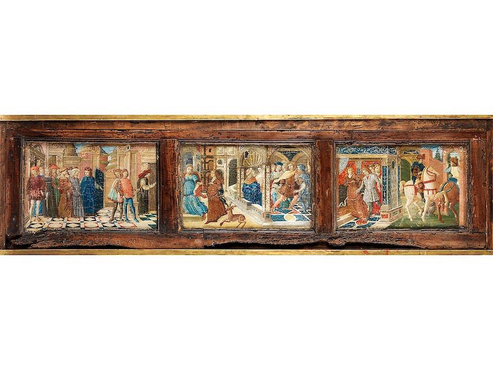 Guidoccio di Giovanni Cozzarelli, 1450 – um 1516/17, zug.