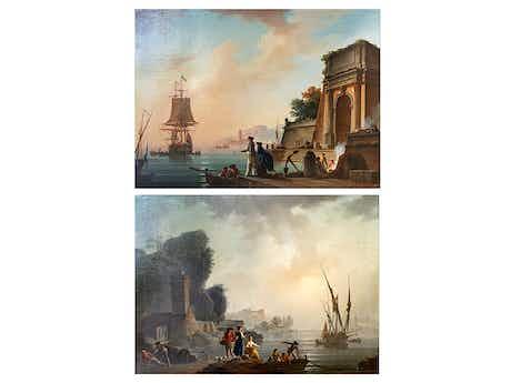 Charles François Lacroix de Marseille, um 1700 Marseille – 1782 Berlin