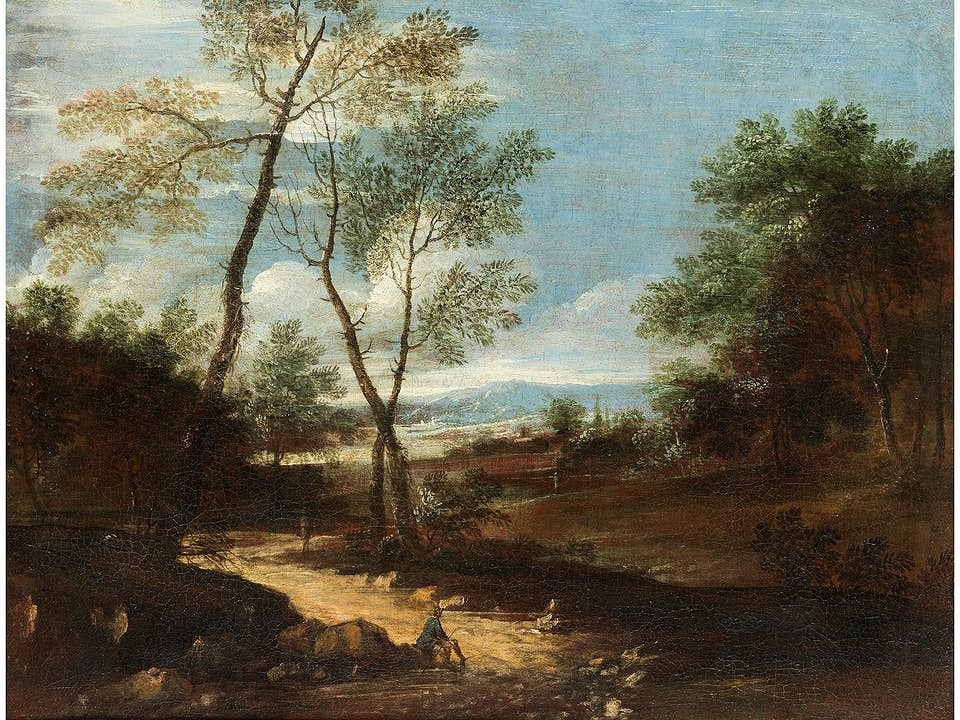 Jan Frans van Bloemen, 1662 Antwerpen – 1749 Rom, Kreis des