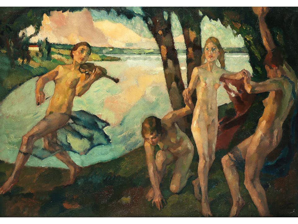 Leo Putz, 1869 Meran – 1940 ebenda