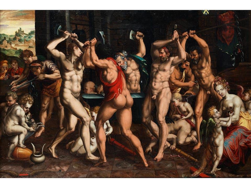 Manieristischer Maler der französischen Schule der zweiten Hälfte des 16. Jahrhunderts