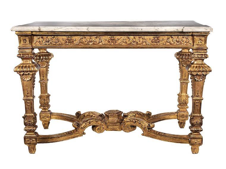 Französische Louis XIV-Konsole | HAMPEL Fine Art Auctions ...