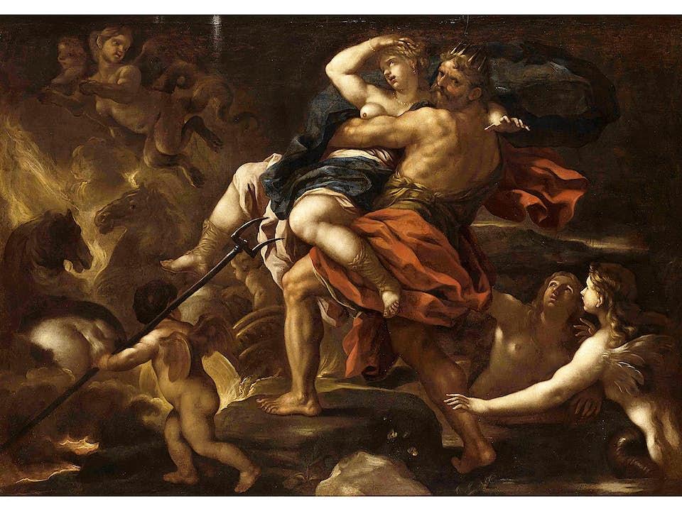 """Luca Giordano, genannt """"Fa Presto"""" 1632/34 Neapel – 1705 ebenda"""