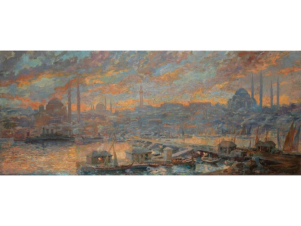 Türkischer Maler des 19. Jahrhunderts