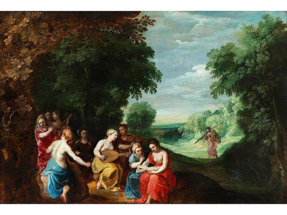 Jan Brueghel d. J. (1601 – 1678) und Nachfolge des Hendrik van Balen d. Ä. (1575 – 1632)