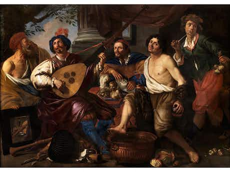 Theodor Rombouts, 1597 – 1637, zug.