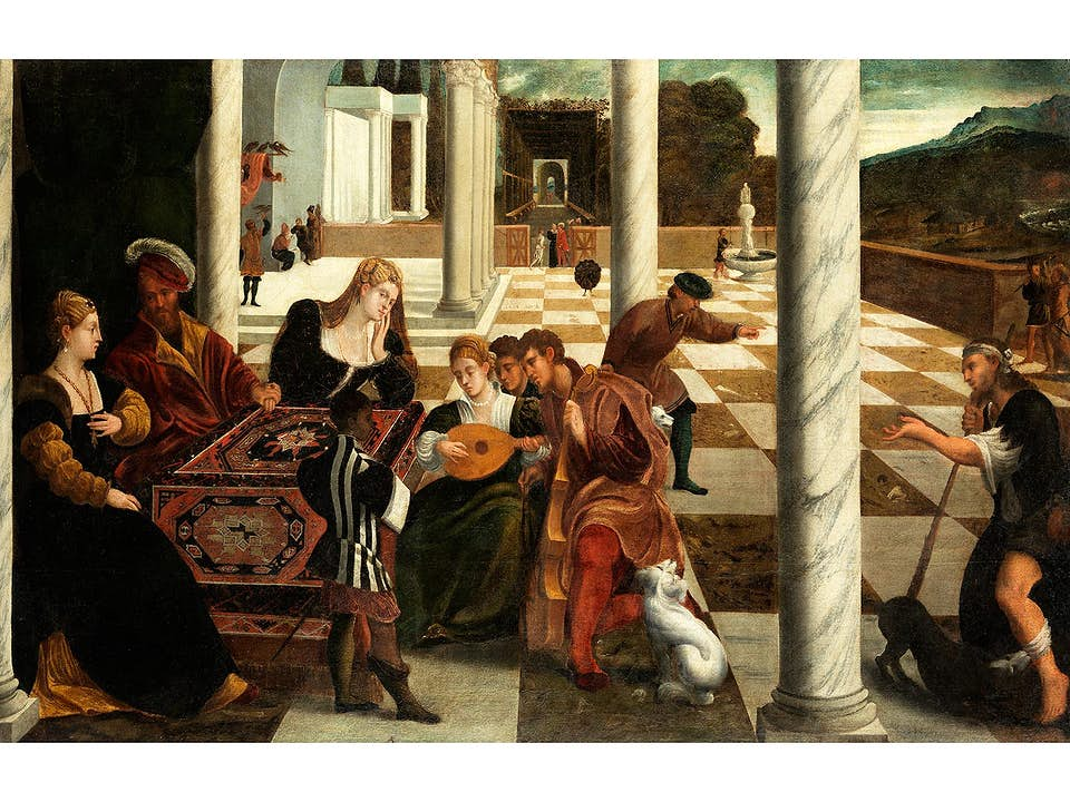 Bonifazio de'Pitati Veronese, 1487 Verona – 1553 Venedig, Werkstatt des