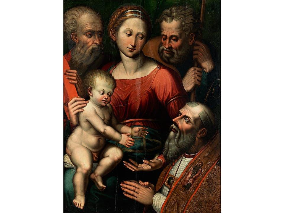 Luca Longhi, 1507 Ravenna – 1580, zug.