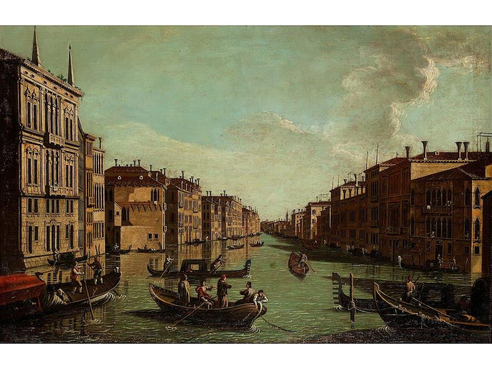 Bernardo Bellotto, genannt Canaletto, 1721 Venedig – 1780 Warschau, Nachfolge