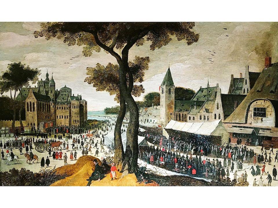Maler des ausgehenden 16./ beginnenden 17. Jahrhunderts, wohl Ludwig Rem, gest. 1603 Kampen