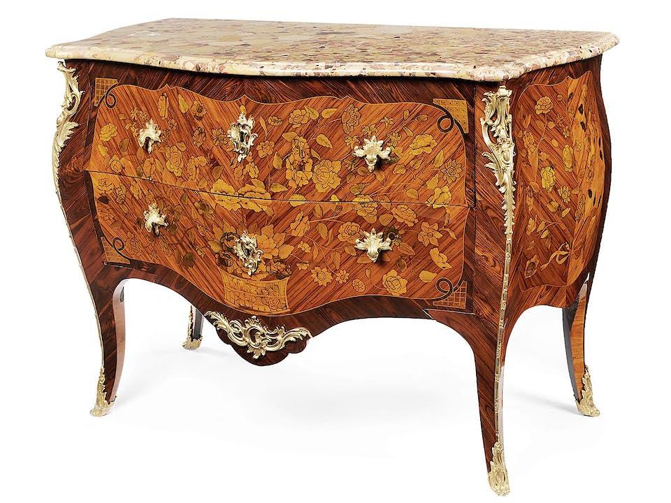 Prächtige Louis XV-Kommode