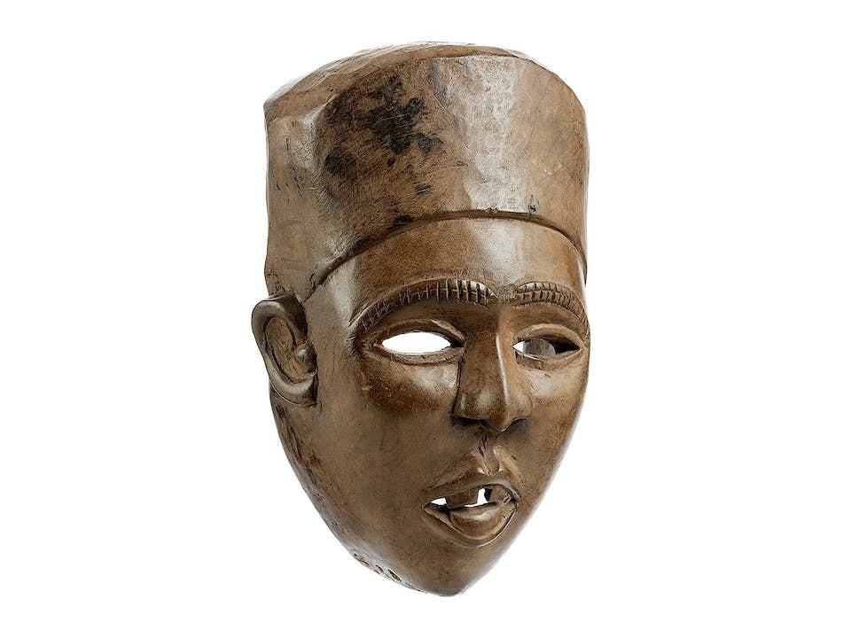 Afrikanische Vili-Maske
