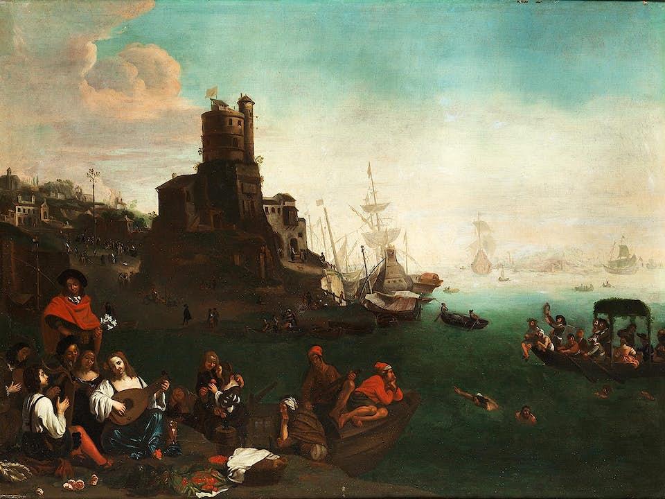 Bamboccist des 17./ 18. Jahrhunderts