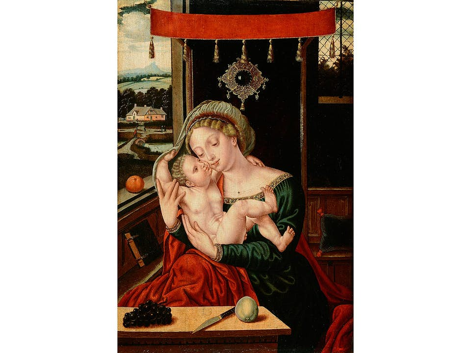 Bernard van Orley, um 1492 – um 1542, zug.