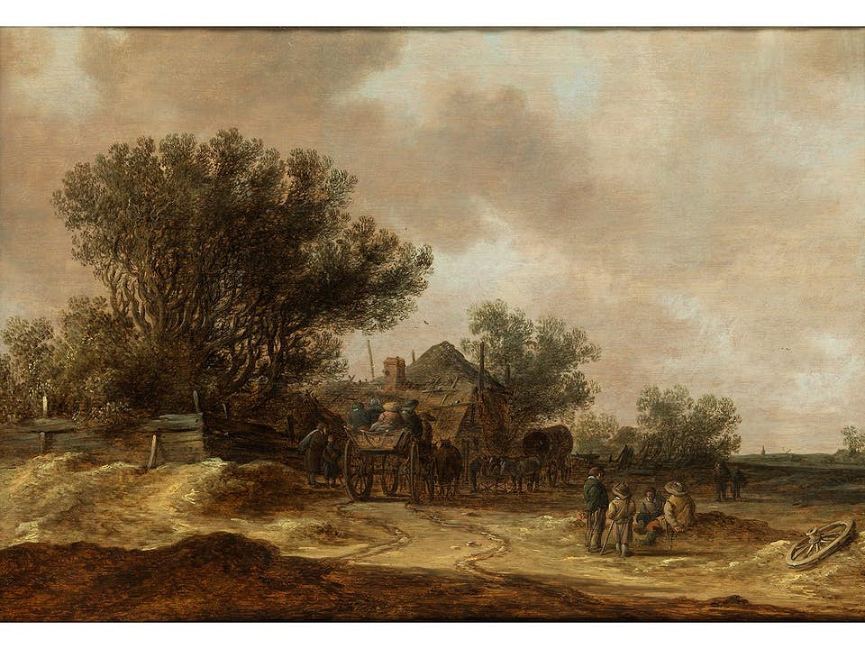 Jan Jozefsz. van Goyen, 1596 Leiden – 1656 Den Haag