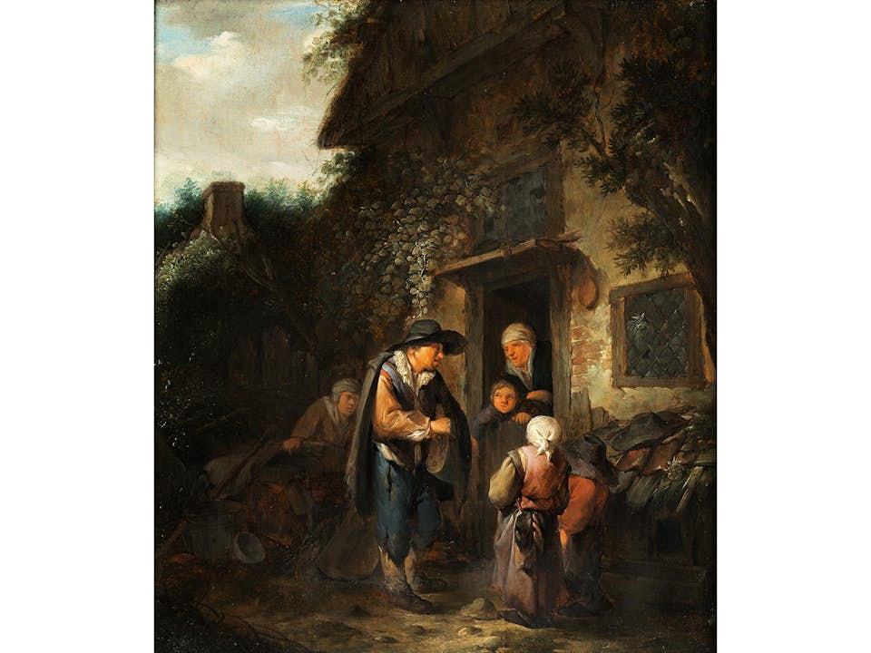 Cornelis Pietersz Bega, um 1620/32 – 1664