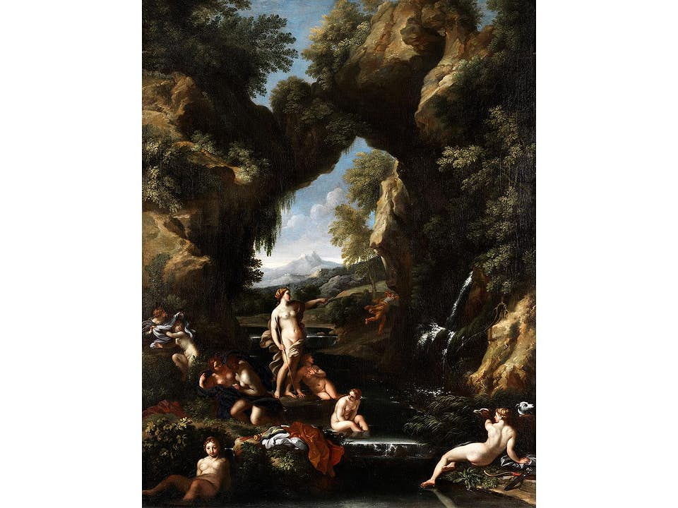 Carlo Maratti, 1625 – 1713 und Gaspar Dughet, 1615 – 1675