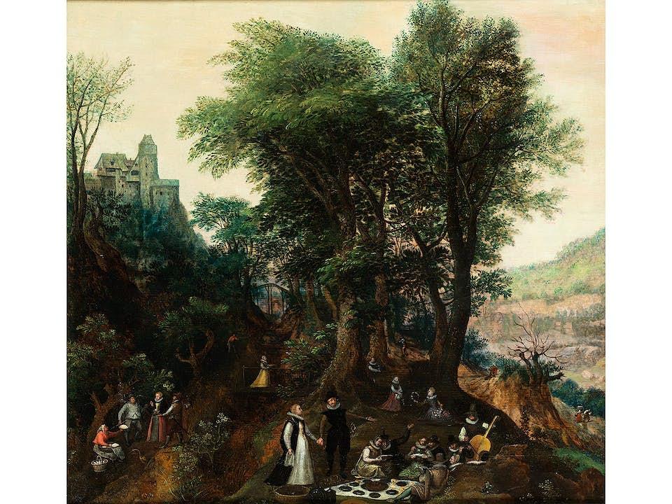 Lucas Valckenborch, um 1535 Löwen – 1597 Frankfurt am Main, Kreis des