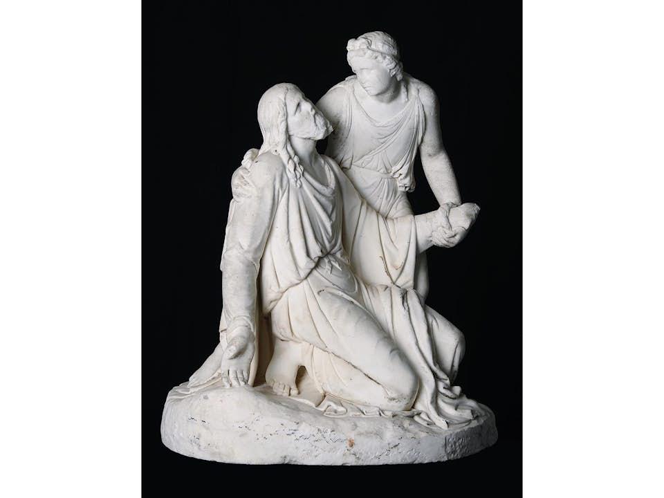 Christus und der Engel
